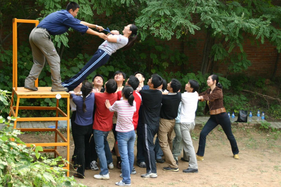 员工野外拓展活动
